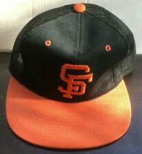 VINTAGE San Francisco Giants Sports Specialties Orange Bill Cap Hat NEVER WORN