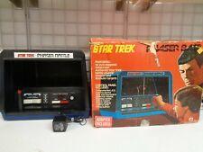 VINTAGE 1976 MEGO STAR TREK PHASER BATTLE ARCADE GAME W/ BOX & ADAPTER READ
