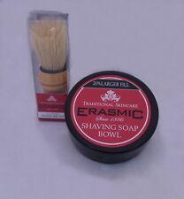 Erasmic Shaving Set, Erasmic Shaving Brush plus Erasmic Shaving soap bowl
