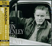 DON HENLEY (THE EAGLES) CASS COUNTY 2015 JPN SHM HIGH FIDELITY FORMAT CD+4 - NEW