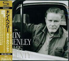DON HENLEY (THE EAGLES) CASS COUNTY 2015 JPN SHM HIGH FIDELITY FORMAT CD+4 - NEW