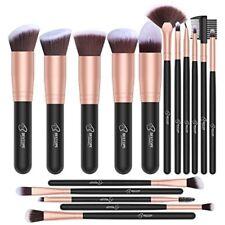16 Pcs Professional Makeup Brush Synthetic Set De Brochas De Maquillaje Kit New
