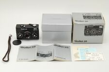 Near MINT in BOX Rollei 35 Compact Film Camera w/Tesser 40mm 3.5 from Japan a680