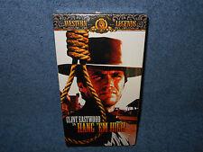 HANG 'EM HIGH - CLINT EASTWOOD - VHS - MGM WESTERN LEGENDS - BRAND NEW SEALED