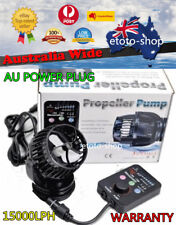 JEBAO RW-15 Aquarium Wave Maker Pump 1200-15000LPH + Wireless Sync Controller