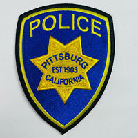Pittsburg Police Contra Costa County California CA Patch (C4)