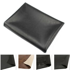 PU Leather Bright Black Motorcycle Seat Cover 70x100cm ATV Scooter DIY Cushion