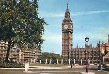 Alte Postkarte - London - Parliament Square and Big Ben