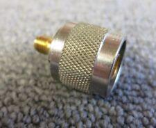 Huber & Suhner 33_N-SMA-50-1/113_UE Straight 50Ω RF Adapter Type N Plug to SMA
