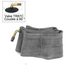 Chambre Air de Qualité Moto Jante 10 Pouces Valve Coudée 90° TR87C / JS87C