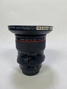 Canon TS-E 24mm F/3.5 II L TS (Tilt-Shift) Lens