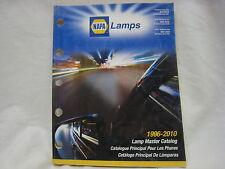 NAPA AUTO PARTS CATALOG LAMPS 1996-2010 (N-6)