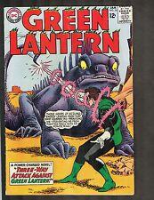 Green Lantern #34 ~ vs Monster Lizard ~1965 (6.5) WH
