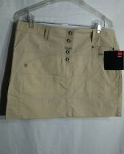 NWT Marithe francois girbaud beige cotton blend mini skirt size 31