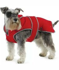 Muddy Paws Stormguard Fleece Lined Coat & Chest Protector Red Xxlarge 10/02