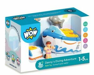 WOW Toys Danny's Driving Adventure Bath Toy Pouring Scoope Mould Resistant