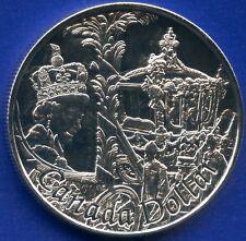 2002 Canada BU Silver Dollar (Queen Elizabeth 50th) (25.175 Grams .925)