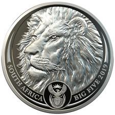 Südafrika - 20 Rand 2019 - Löwe -  Big Five Serie (2.) - 1 Oz Platin PP