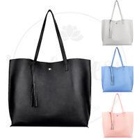 Women Synthetic Leather Handbag Shoulder Ladies Purse Messenger Satchel Tote Bag