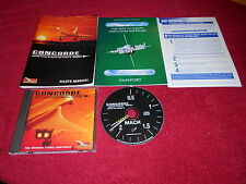 CONCORDE THE ULTIMATE FLYING EXPERIENCE BIG BOX  PC CD ROM