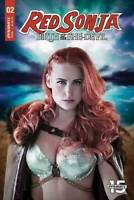RED SONJA BIRTH OF SHE DEVIL #2 DYNAMITE  COVER C PHOTO COSPLAY