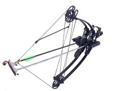 50 lbs, Ambidextrous  Delta Bow with draw holding device BLACK