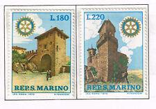 San Marino Architecture Famous Castles set 1970 MNH