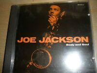 Joe Jackson Body And Soul CD Album Made In West Germany A&M Records 395 000-2