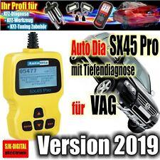 AutoDia SX45 Pro+ für VW Audi Seat Skoda ABS AIRBAG Öl-SERVICE Reset EPB TOP ++
