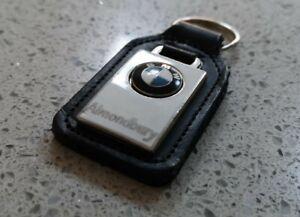 BMW Leather Keyring - Genuine - Almondbury