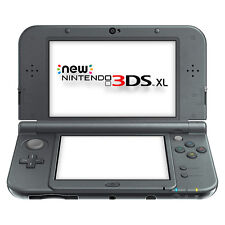 Nintendo New 3DS XL - Black Handheld System Very Good Condition