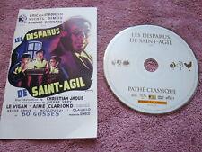LES DISPARUS DE SAINT AGIL DVD PATHE CLASSIQUE DVD (voir photo) SANS JAQUETTE