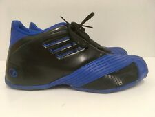 Rare Adidas Tracy McGrady T-Mac 1 Basketball Shoes Mens Size 9.5 G59090 Blk/Blue