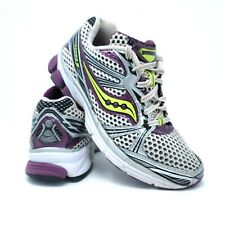 Saucony Progrid Guide 5 Womens Size 7.5 Gray Purple Running Shoes