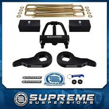 "92-99 FULL Lift Kit Chevy Suburban Tahoe GMC Yukon 4WD 3"" F + 1"" R w/ T Tool PRO"