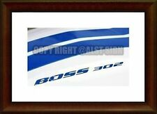 Ford Falcon BA/BF Bonnet Bulge Decals Boss 260 /290 /302/ 330 etc TEXT ONLY !!!