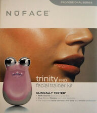 PINK NUFACE PRO Trinity Facial Toning Device Kit SEALED