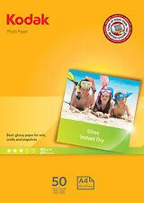 A4 180 GSM Photo Gloss 5740-513 6932357405136 by Kodak