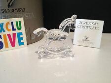 Swarovski Figur Schaukelpferd 6,8 cm mit Ovp & Zertifikat, Top Zustand !!