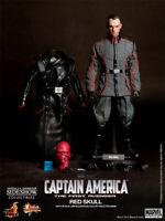 """Red Skull Captain America Hugo Weaving 1/6 Marvel MMS167 12"""" Figur Hot Toys"""