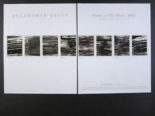 2005 Ellsworth Kelly States of the River lithographs offer vintage print Ad