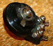20er/30er Jahre Potentiomete, altes Radiobauteil - antique spare part tube radio