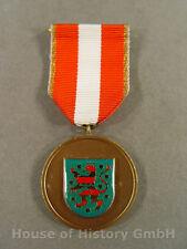 56358: Medaille für Verdienste um den Brandschutz des Land Hessen , am Band