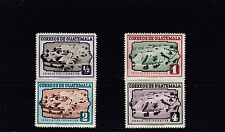 a112 - GUATEMALA - SG519-522 MNH 1951 AERIAL VIEWS OF SCHOOLS