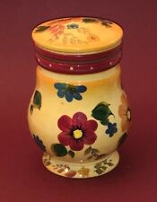 Oneida Kitchen SUNSET BOUQUET Medium Ceramic Canister