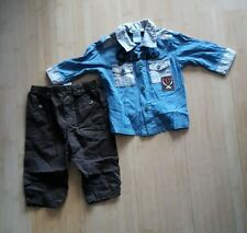 Guess shirt and pants set size 6-9 months BNWOT