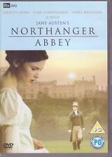 DVD - JANE AUSTEN'S NORTHANGER ABBEY - Felicity Jones Liam Cunningham PAL FORMAT