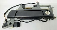 96-99 BMW E36 DRIVER SIDE DOOR HANDLE M3 323 325 328 318 DOUBLE TWO PLUG OEM