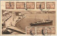 514610  - MALTA -  POSTAL HISTORY: MAXIMUM CARD -  ARCHITECTURE 1946
