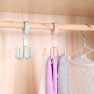 Bag Towel Home Wardrobes Clothes Hanger Storage Rack Scarf Organizer Coat Hook